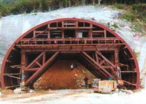 地铁隧道衬砌结构图